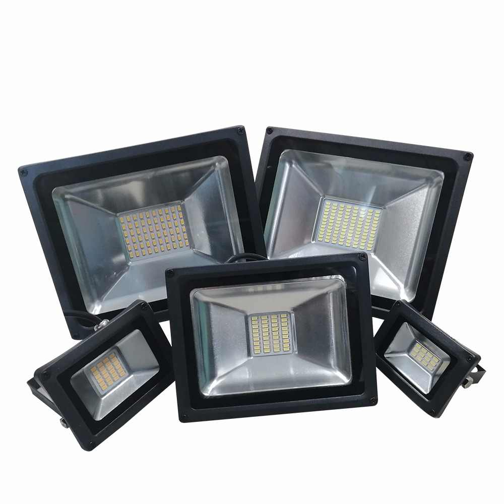 AC 220V-240V LED Industrial Lighting 10W 20W 30W 40W 50W Factory Workshop Warehouse Work Light IP65 Waterproof LED High Bay Lamp