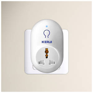 KERUI Smart-Socket Alarm-System Home-Security Wireless 433mhz for EU US UK Au-Standard