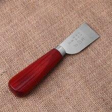 Кожа ремесло Skiving острые ручки нож кожевенное ремесло ручной работы DIY инструмент