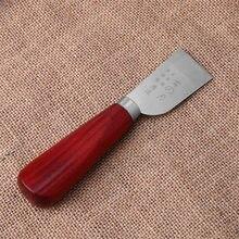 Faca de couro artesanal, ferramenta de trabalho manual de diy