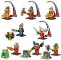 Легенда Цигун Chimaed героев строительный блок 8in1 сцены Lagravis Gorzan Лаваль Worriz Cragger Razar кирпичи совместимы legoe. игрушки