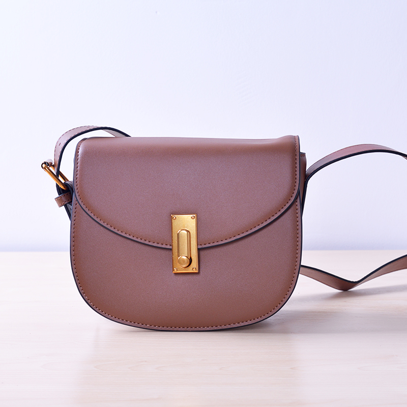 Brown Women Messenger Bags Shoulder Bag Handbags Cute Messenger Bags Crossbody Bag for Girls Christmas Gifts Genuine for Ladies women messenger bags 2015 100% crossbody women bag
