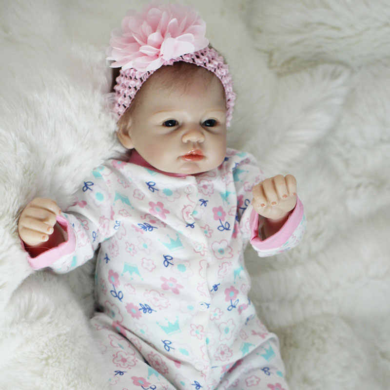Boneca Reborn 22 inch Zachte Siliconen Vinyl Poppen 55 cm Zachte Siliconen Reborn Baby Pop Pasgeboren Levensechte Bebe Reborn Poppen