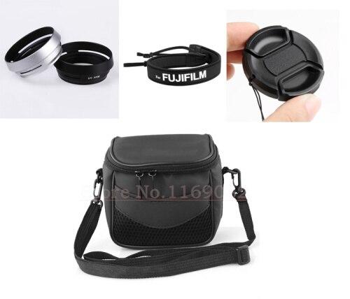 4in1 Kamera Tasche + LH-X100 gegenlichtblende + 58mm objektiv kappe schutz +...