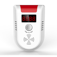 New LPG GAS Detector Wireless Digital LED Display Combustible Gas Detector For Home Alarm System