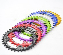Deckas 96 BCD Oval Chainring 32/34/36/38T for Shimano M7000/8000 Narrow and Wide MTB Mountain Bike Bicycle Chain Wheel Crank