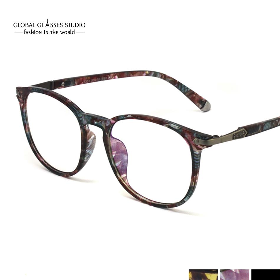81aec1544e Eyeglass Frames Vintage Men Women Designer Eyewear Frame Optical Eye ...