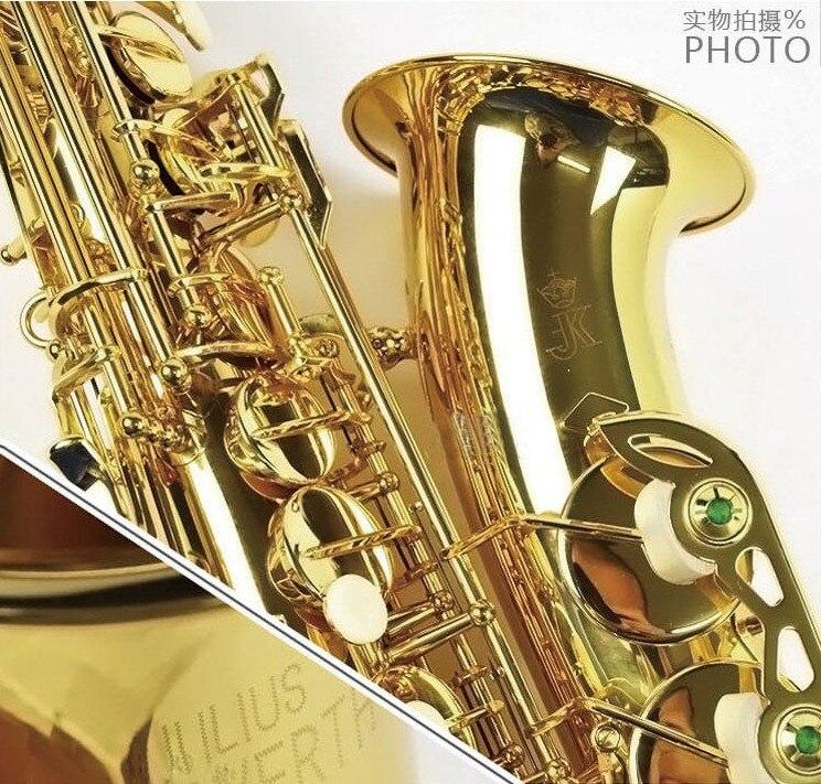 Copy Germany (JK)Keilwerth ST90 Gold Lacquer Alto Saxophone Eb Wind Brass Instrument Sax Alto Western Instruments Saxofone hot brand new gold lacquer eb alto trombone student horn nice tone instrumentos musicais profissionaltuba brass
