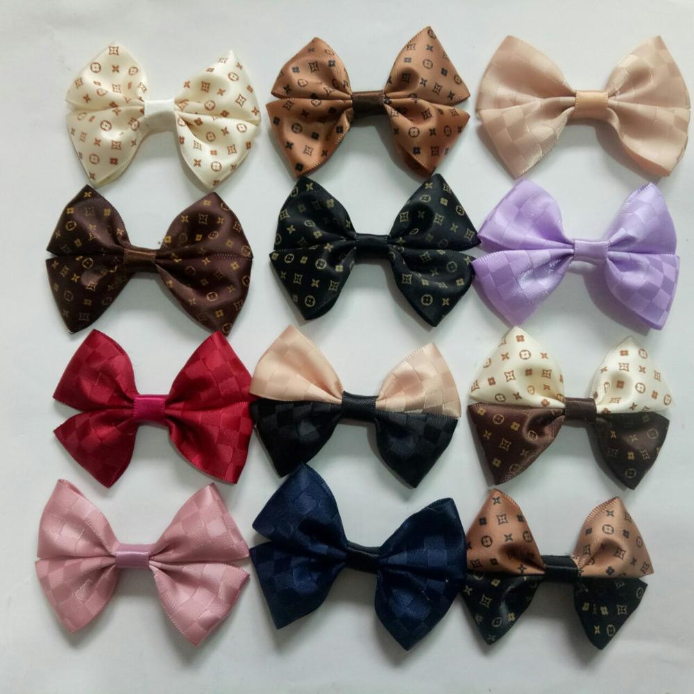 1PCS Fashion ribbon bows Ornament Accessories for hair bows bowknot   headwear   headband hairclip hairband hairpins No hair clip