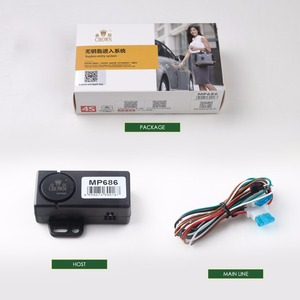 Image 5 - PKE Smart Key Car Alarm System With Remote central locking Start Stop Push Button Passive Keyless Entry MP686