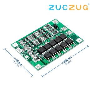 Image 1 - 4S 40A Li ion Lithium Battery 18650 Charger PCB BMS Protection Board with Balance For Drill Motor 14.8V 16.8V Lipo Cell Module