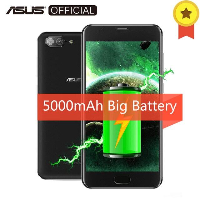 """Asus Zenfone 4 максимум плюс X015D 5000 мАч большой Батарея двойной задней камерами Восьмиядерный MT6750 Android 7.0 3 ГБ Оперативная память 32 ГБ Встроенная память 5.5 """"мобильный телефон"""