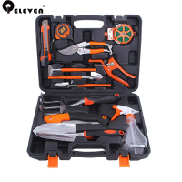 Qeleven New Alloy Steel Household Planting Garden Tool Set Household Sprinkler Garden Gardening Tools Set 12 Pieces