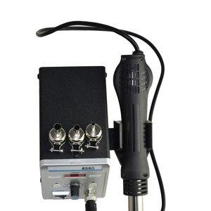 Image 5 - Estación de soldadura Eruntop 858D, sin plomo, Digital LED, desoldadura de hierro para soldar, BGA refundido, pistola de aire caliente