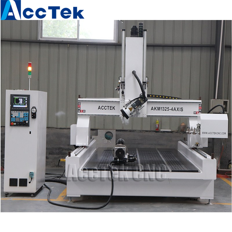 1325 ATC 4 Axis CNC Machine For Wood Carving Automatic 3d Woodworking CNC Router For Sale