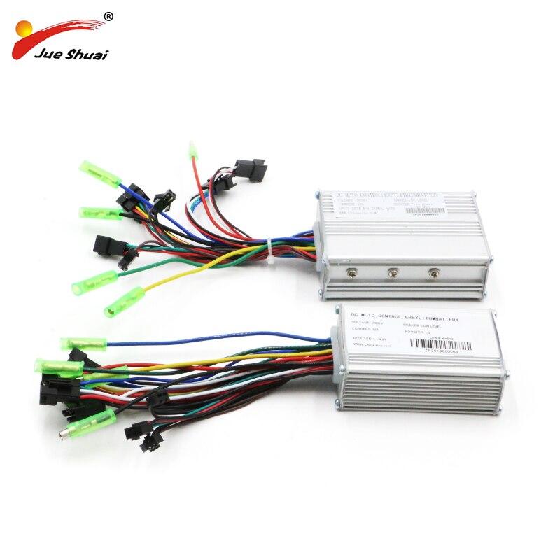 Bicicleta elétrica Controlador de LCD LED DC48V 36V 14A/20A Controla 250 W/350 W/500 W controlador Sem Escova do motor ebike Bicicleta Controlador