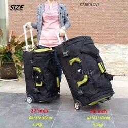 السفر حكاية للماء عالية قدرة السفر حقيبة ، المتداول الأمتعة أكسفورد حقيبة ملابس ، النساء حقيبة تروللي بعجلات ، الرجال 27 30 بوصة مربع