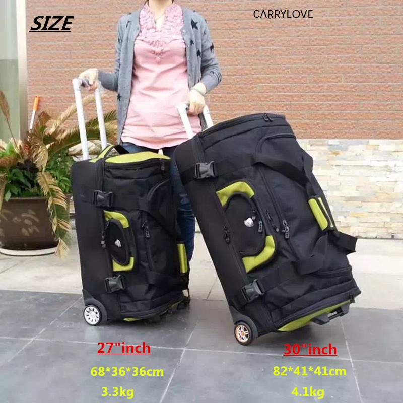 Travel Tale Waterproof High Capacity Travel Suitcase ,Rolling Luggage Oxford Cloth Bag,Women Trolley Case , Men 27