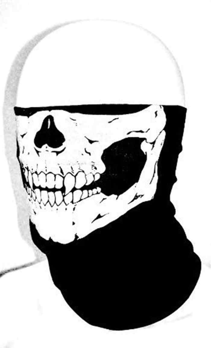 موتو كاسكو mascaras الجمجمة أنبوبي واقية الغبار الفم قناع باندانا دراجة نارية كوفية من البوليستر الوجه الرقبة أدفأ خوذة