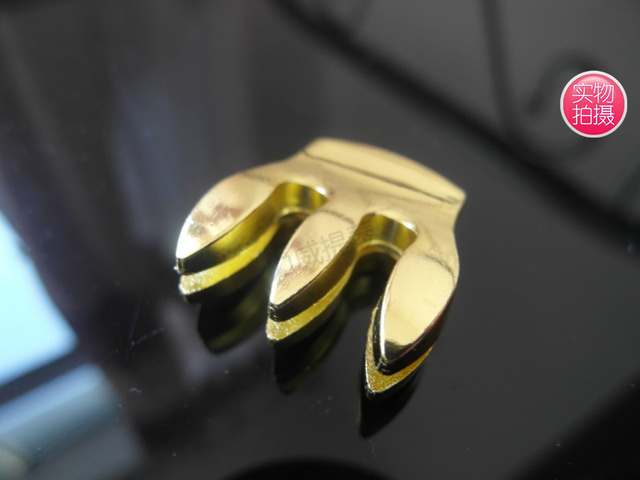 High quality Gold plated Three claws Violin Mute