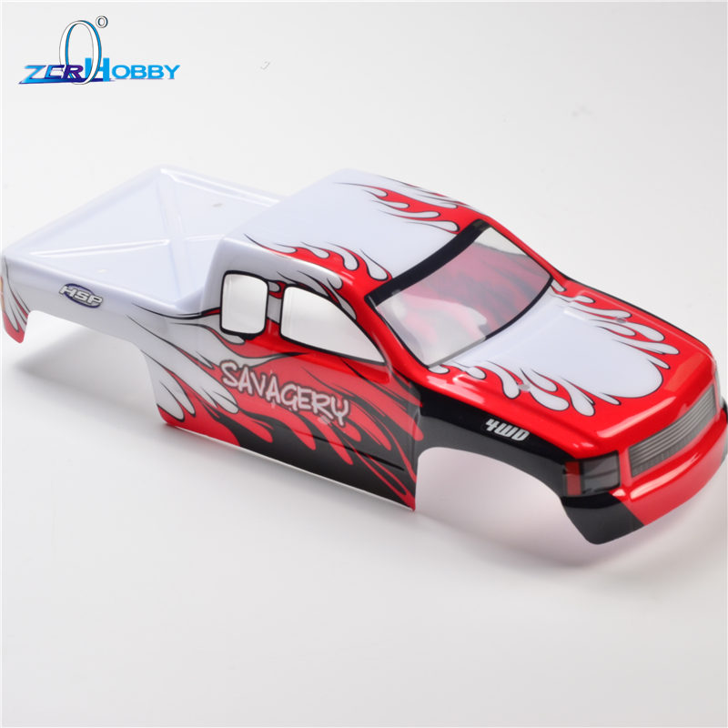 HSP RACING RC CAR SPARE PARTS ACCESSORY 1/8 SCALE BODY SHELL OF 94982 MONSTER TRUCK Item No. 86299 rc car spare parts accessories body shell 37 5 22 5 for hsp 1 8 scale remote control bazooka buggy car 94081 94081gt 94081gt e9