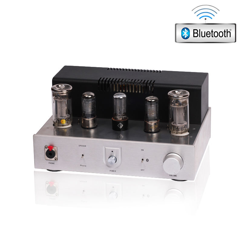 Music hall Latest FU50 Vacuum Tube Integrated Amplifier Single-End Class A Stereo Headphone Amp Pure DIY hand scaffolding