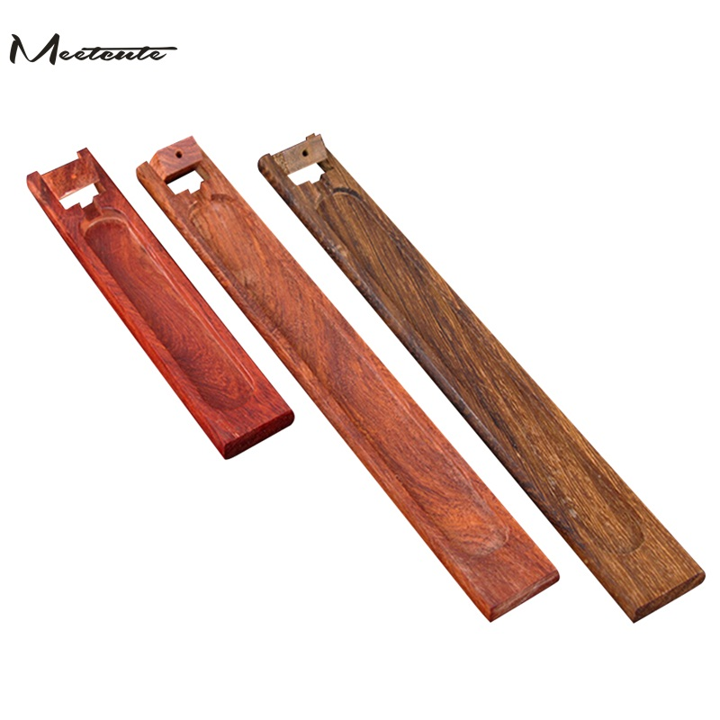 Meetcute Durable Rosewood Incense Burner Censer Santal Natural Bamboo for Creative Incense Holder