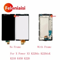 5 3 For LG X Power X3 K220ds K220dsK K210 K450 K220 Full Lcd Display Touch