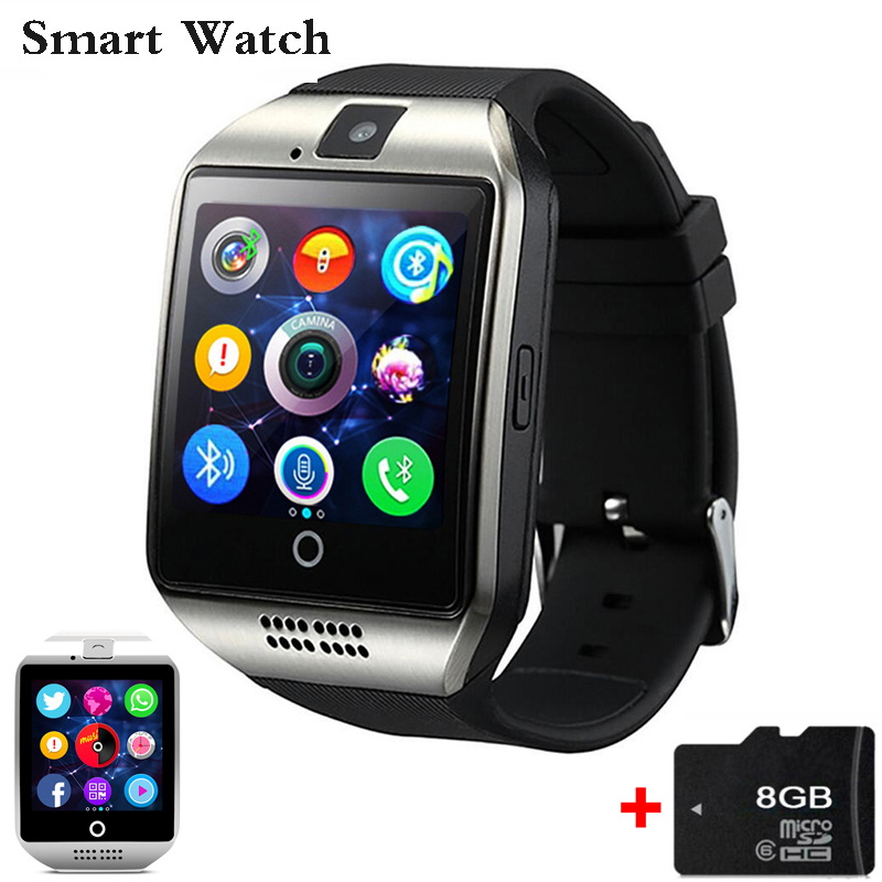 Smart Watch G1 Clock Sync Notifier support SIM TF Card Connectivity Android Phone Smartwatch Czech Dutch Hungarian Arabic Hebrew 696 smart watch q18 clock sync notifier support sim sd card bluetooth connectivity android phone smartwatch sport pedometer
