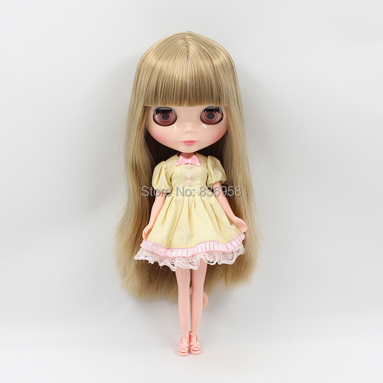 Nude Doll For Series No BL9031 FLAXEN HAIR WITH BANGS