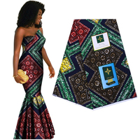 Cotton Ankara African printed fabric guaranteed real dutch wax Africa cloth high quality sewing material for party dress 6yards