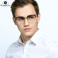EE Fashion Acetate And Alloy Oculos Fashion Men Women Optical Eyeglasses Frame Glasses With Clear Glasses