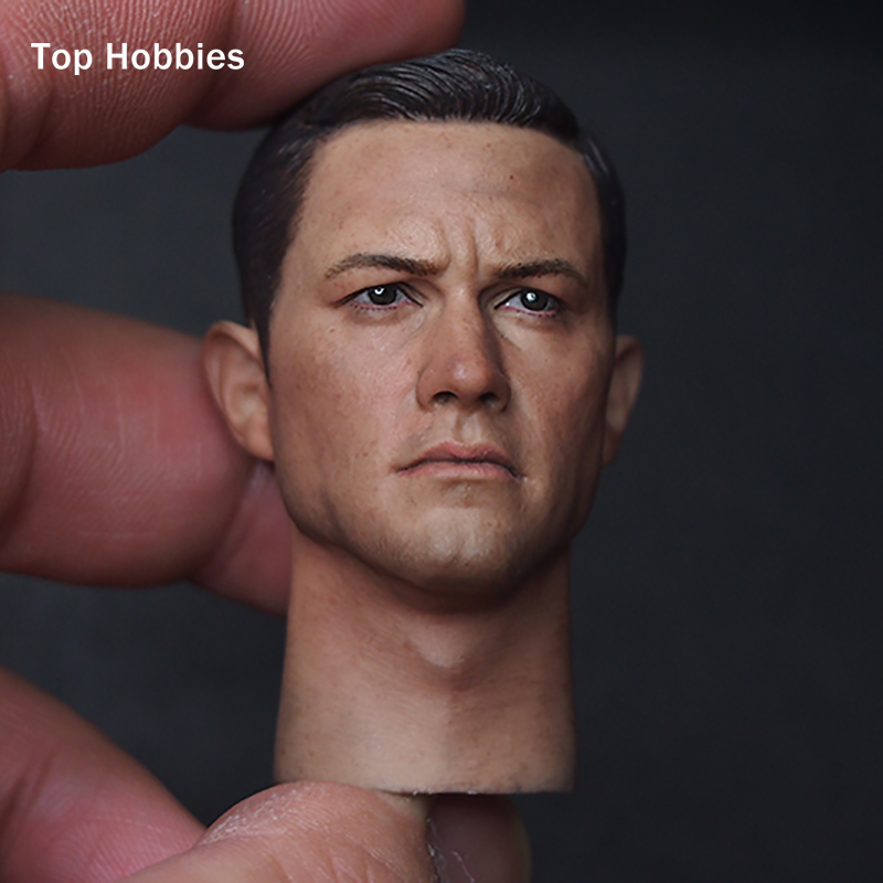 1/6 stairs Batman Robin Detective Blake Joseph gordon blake head sculpt carving for hot toys body for 12