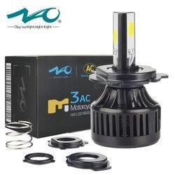 NAO h4 led moto led light HS1 H4 led motorcycle led headlight motorcycle BA20D moto bulb 40W 4000Lm H6 head motorbike Lamp M3AC