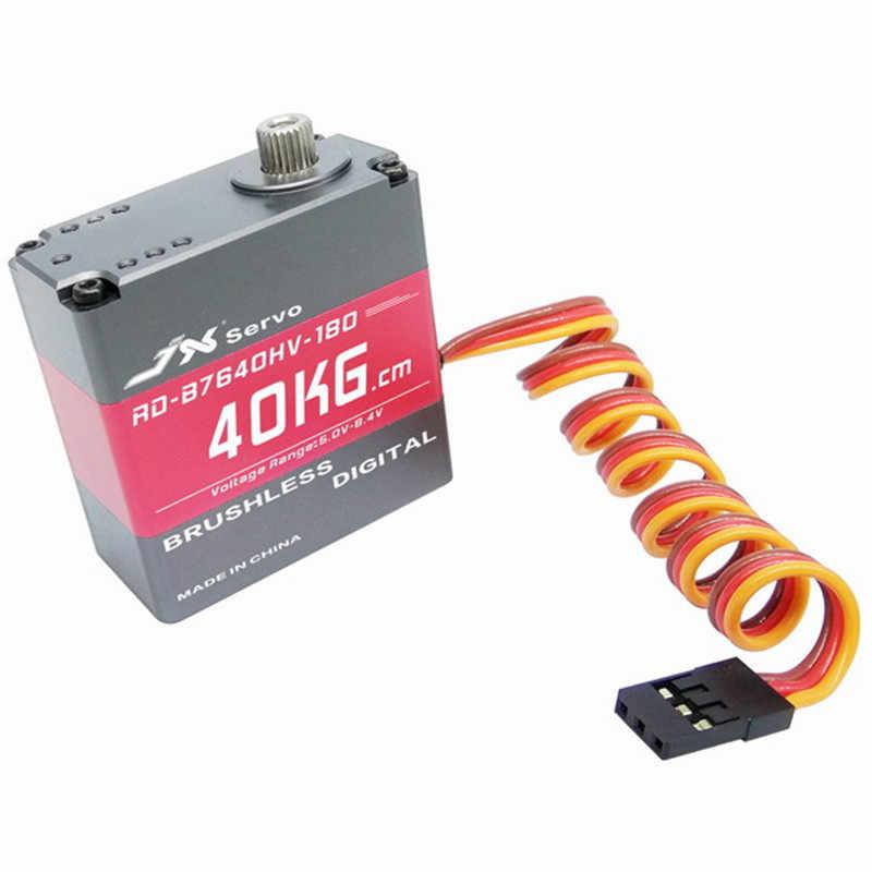 Высокая производительность JX RD-B7640HV-180 40 кг 180 градусов сервопривод для RC робот RC модели запасные части Запчасти