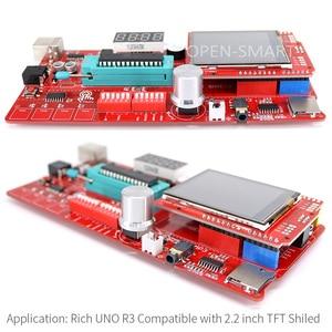Image 4 - Carte de développement riche multifonction pour Arduino UNO R3 Atmega328P, avec module capteur MP3 /DS1307 RTC/température/tactile