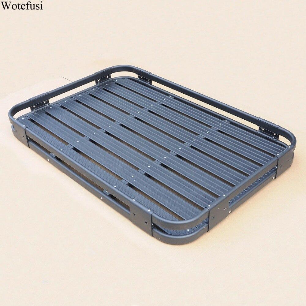 ③Wotefusi Top roof rack barras transversales portaequipajes cargo ...