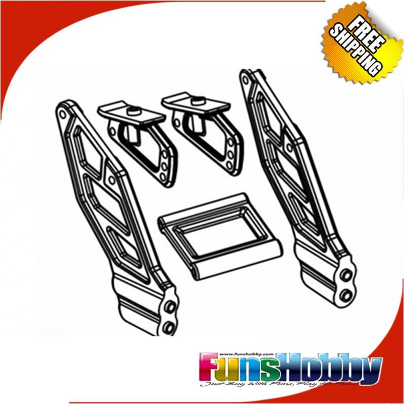 ФОТО MCD Racing Buggy Rear Wing Mounts.COD.500401P