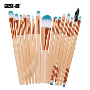 Ολοκληρωμένο Σετ με 15 Επαγγελματικά Πινέλα Μακιγιάζ Μακιγιάζ Προϊόντα Περιποίησης MSOW