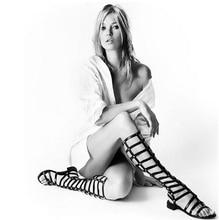 2017 New Arrivals gladiator Sandals women sandalias Knee High Comfortable Flats Straps Heel Sandals Summer women