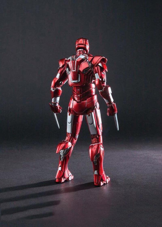 Comicave Studios 1//12 Metal Iron Man MK33 Type Centurion Figure Model Light Toys