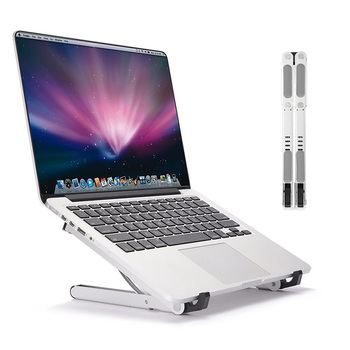 Multifulfunction Aluminium Portable Folding Laptop Stand 4 Hoeken Verstelbare Tabletten/Telefoon/Boek/Notebook Houder Cooling Beugel