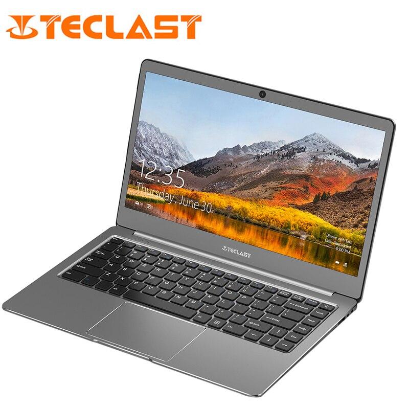 Teclast F6 Notebook 13.3 inch 1920x1080 Windows 10 6GB RAM 128GB Intel APOLLO LAKE N3450 Quad Core Laptops