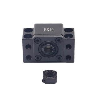 Image 4 - Ballscrew النهاية يدعم 1 قطعة BK12 + 1 قطعة BF12 1605 1610 ballscrew نهاية دعم 10 مللي متر CNC أجزاء ل SFU1605 SFU1610 BK10 BF10 forSFU1204