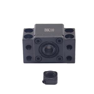 Image 4 - Extremidade ballscrew suporta 1pc bk12 + 1pc bf12 1605 1610 ballscrew final suporte 10mm peças cnc para sfu1605 sfu1610 bk10 bf10 forsfu1204