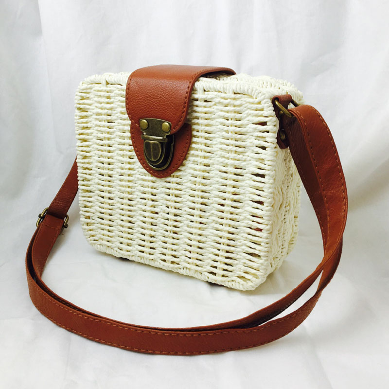 HTB1w1TwN9zqK1RjSZFLq6An2XXaE - Fashion Mini Ladies Shoulder Bags Hand-woven Square Candy Color Straw Bag  Bohemia Beach Bag Vacation Travel Crossbody bag