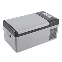 C15 15L AC / DC Portable Car Refrigerator Multi Function Home Travel Vehicular Fridge Temperature Control With The LED Digital