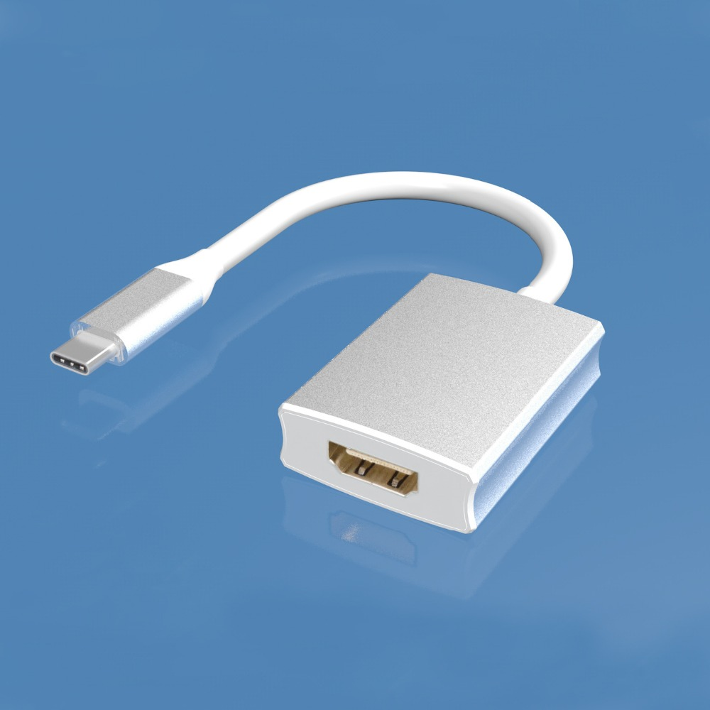 USB Type C to HDMI Adapter USB 3 1 USB C to HDMI Adapter Male to Female Converter for MacBook2018 Huawei Matebook Smasung S8