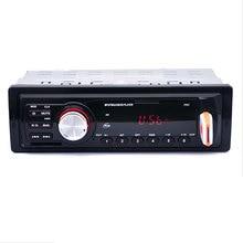 REAKOSOUND 5983 Coches En El Tablero Estéreo de Audio FM Receptor USB SD de Entrada Aux soporte de MP3 WMA Reproductor de Radio 1 DIN para MP3/WMA/WAV