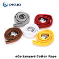 Hot sell e cigarette accessories eGo Lanyard Cotton Rope electronic cigarette string neck 5pcs/lot